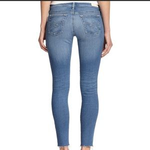 AG The Legging Ankle Super Skinny Jean Law Hem